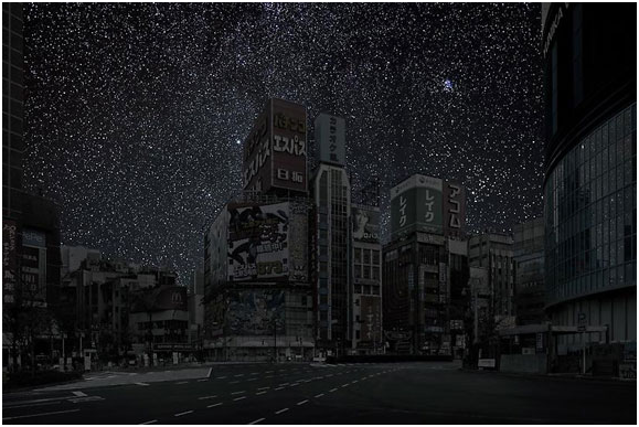 Source: Thierry Cohen's Cities Without Light Pollution